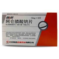 固邦 阿仑膦酸钠片 10mg×6片