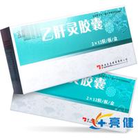 金爵 乙肝灵胶囊 0.5g*2×12粒/板/盒