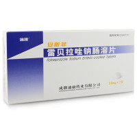 安斯菲  雷贝拉唑钠肠溶片 20mg*7片