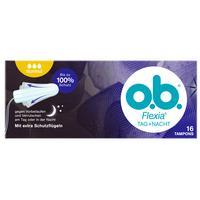 【2件减10元 3件减20元】o.b.Flexia 内置式卫生棉条尾翼普通型 16支