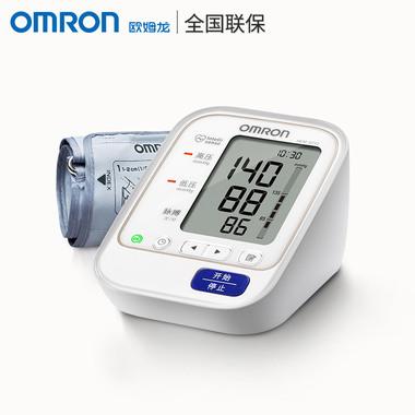 立减10元 到手269】欧姆龙电子血压计HEM-8713上臂式智能准确全自动血压测量仪器老人家用