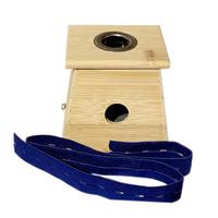 邵氏 艾灸盒 单孔*2盒 竹制艾灸盒