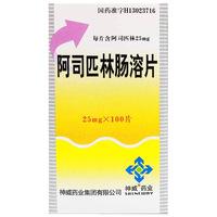 神威药业 阿司匹林肠溶片 25mg*100片