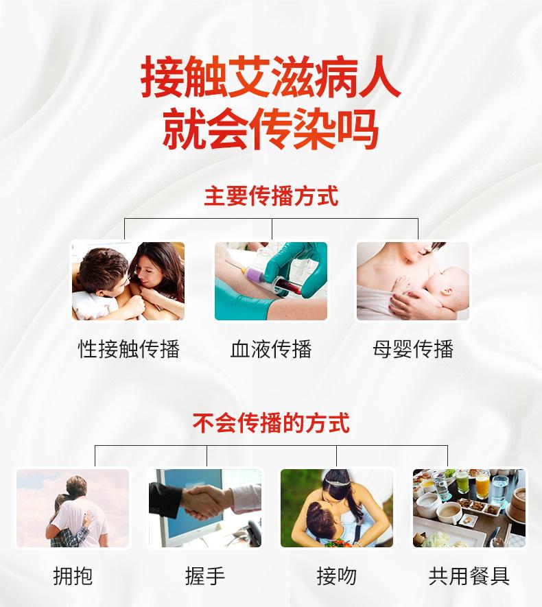 万孚 人类免疫缺陷病毒抗体(HIV1/2)检测试剂(胶体金法) 含针头 血液检测4959